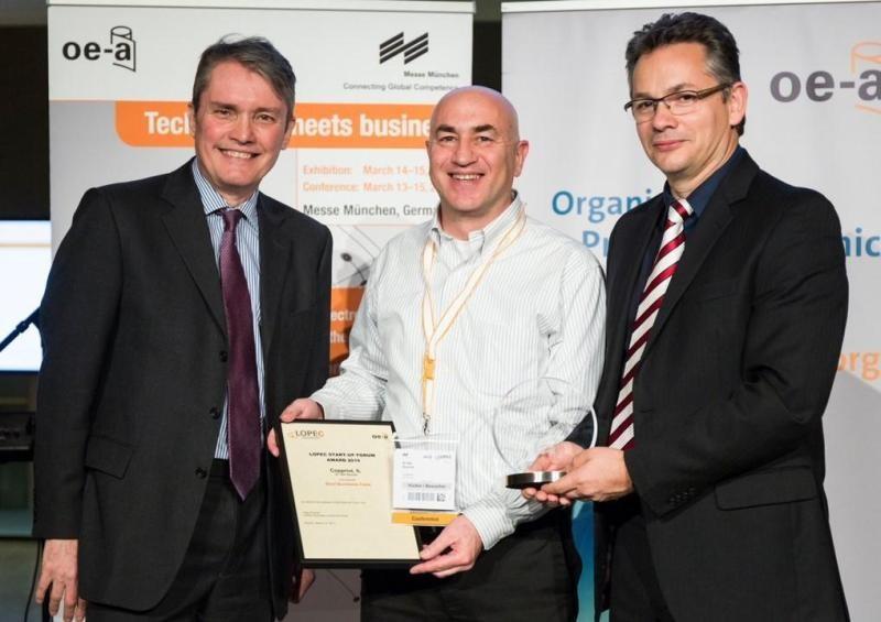 Copprint wins the LOPEC 2018 Startup Award